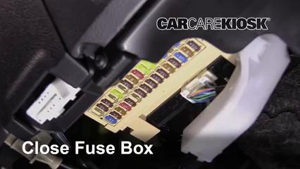 interior fuse box location: 2017-2018 toyota corolla im - 2017 toyota  corolla im 1 8l 4 cyl