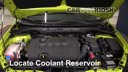 2017 Toyota Corolla iM 1.8L 4 Cyl. Coolant (Antifreeze) Fix Leaks