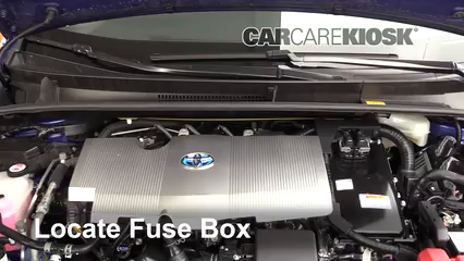 2017 Toyota Prius Four 1.8L 4 Cyl. Fuse (Engine)