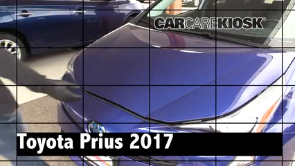 2017 Toyota Prius Four 1.8L 4 Cyl. Review