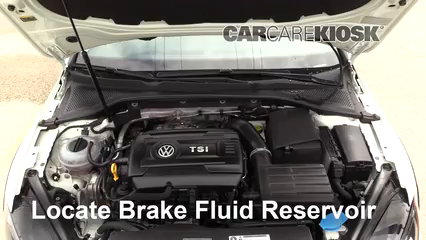 2017 Volkswagen Golf Alltrack S 1.8L 4 Cyl. Turbo Brake Fluid