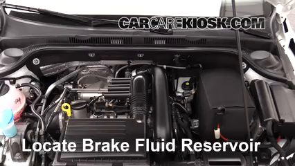 2017 Volkswagen Jetta S 1.4L 4 Cyl. Turbo Brake Fluid