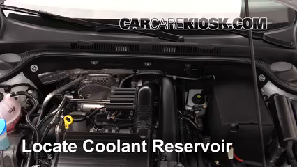 2017 Volkswagen Jetta S 1.4L 4 Cyl. Turbo Coolant (Antifreeze)