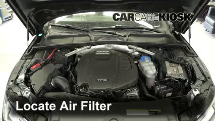 2017 Audi A4 allroad Premium Plus 2.0L 4 Cyl. Turbo Filtro de aire (motor)