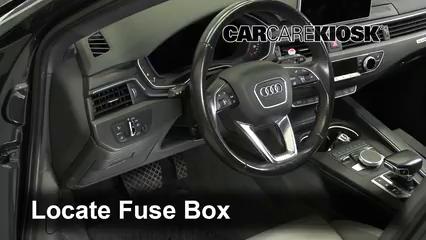 2017 Audi A4 allroad Premium Plus 2.0L 4 Cyl. Turbo Fusible (interior)