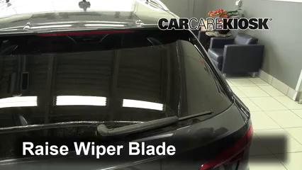 2017 Audi A4 allroad Premium Plus 2.0L 4 Cyl. Turbo Escobillas de limpiaparabrisas trasero