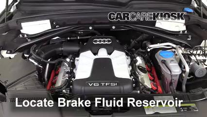 2017 Audi Q5 Premium Plus 3.0L V6 Supercharged Liquide de frein