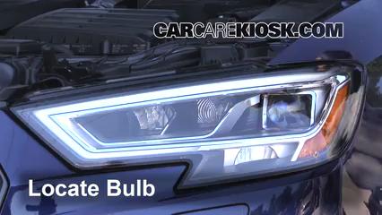 2017 Audi S3 Premium Plus 2.0L 4 Cyl. Turbo Luces Faro delantero (reemplazar foco)