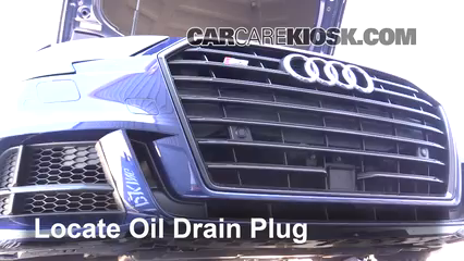 2017 Audi S3 Premium Plus 2.0L 4 Cyl. Turbo Oil Change Oil and Oil Filter