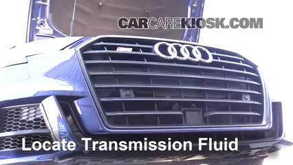 2017 Audi S3 Premium Plus 2.0L 4 Cyl. Turbo Líquido de transmisión Sellar pérdidas