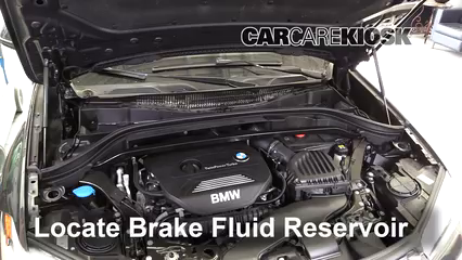 2017 BMW X1 sDrive28i 2.0L 4 Cyl. Turbo Brake Fluid