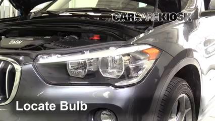 2017 BMW X1 sDrive28i 2.0L 4 Cyl. Turbo Luces Luz de estacionamiento (reemplazar foco)