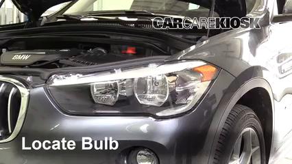 2017 BMW X1 sDrive28i 2.0L 4 Cyl. Turbo Luces Luz de giro delantera (reemplazar foco)