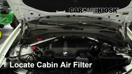 2017 BMW X4 xDrive28i 2.0L 4 Cyl. Turbo Air Filter (Cabin)