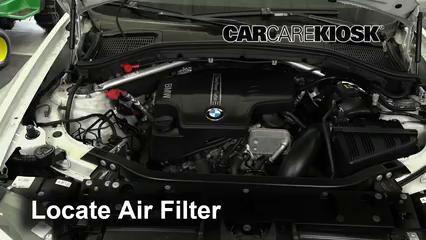2017 BMW X4 xDrive28i 2.0L 4 Cyl. Turbo Air Filter (Engine)