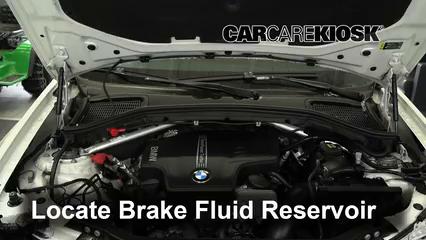 2017 BMW X4 xDrive28i 2.0L 4 Cyl. Turbo Brake Fluid