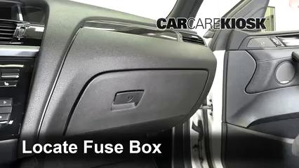 2017 BMW X4 xDrive28i 2.0L 4 Cyl. Turbo Fuse (Interior)