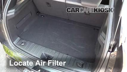 2017 BMW i3 Range Extender 0.6L 2 Cyl. Filtre à air (moteur)