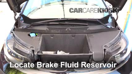2017 BMW i3 Range Extender 0.6L 2 Cyl. Brake Fluid