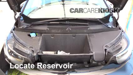 2017 BMW i3 Range Extender 0.6L 2 Cyl. Windshield Washer Fluid