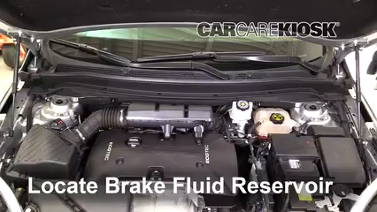 2017 Buick Envision Essence 2.5L 4 Cyl. FlexFuel Brake Fluid