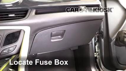 2017 Buick Envision Essence 2.5L 4 Cyl. FlexFuel Fuse (Interior)