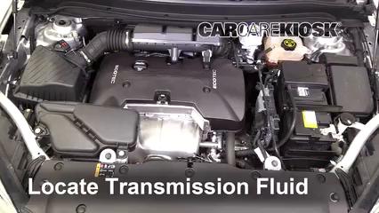 2017 Buick Envision Essence 2.5L 4 Cyl. FlexFuel Transmission Fluid