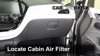 2017 Chevrolet Bolt EV LT Electric Filtro de aire (interior)