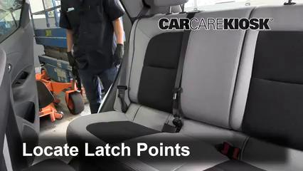 2017 Chevrolet Bolt EV LT Electric Asientos de Carro