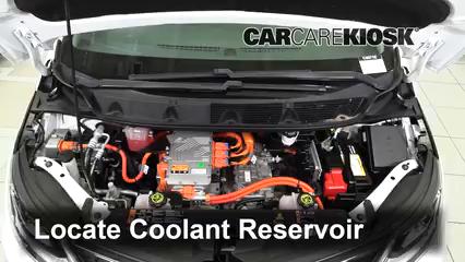 2017 Chevrolet Bolt EV LT Electric Pérdidas de líquido