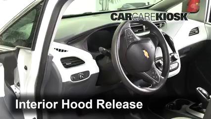 2017 Chevrolet Bolt EV LT Electric Capó
