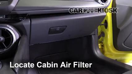 2017 Chevrolet Camaro SS 6.2L V8 Convertible Filtre à air (intérieur)