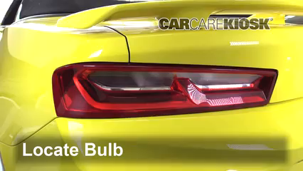 2017 Chevrolet Camaro SS 6.2L V8 Convertible Éclairage