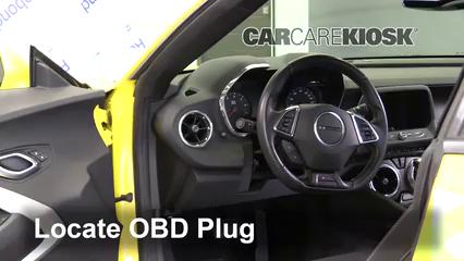 2017 Chevrolet Camaro SS 6.2L V8 Convertible Lumière « Check engine » du moteur