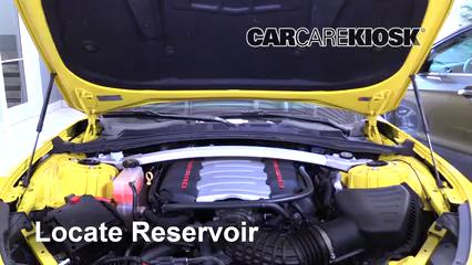 2017 Chevrolet Camaro SS 6.2L V8 Convertible Liquide essuie-glace