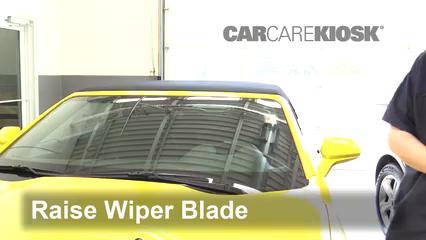 2017 Chevrolet Camaro SS 6.2L V8 Convertible Balais essuie-glace avant