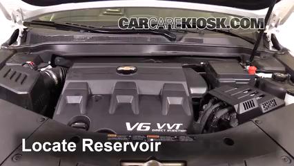 2017 Chevrolet Equinox Premier 3.6L V6 Liquide essuie-glace
