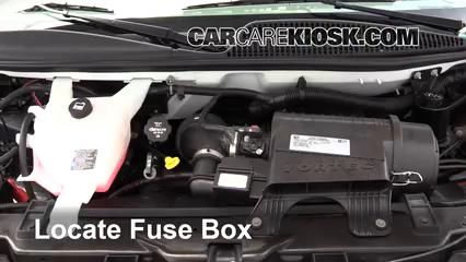 2017 Chevrolet Express 2500 4.8L V8 FlexFuel Extended Cargo Van Fusible (motor) Control