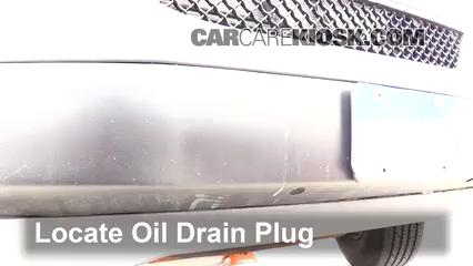 2017 Chevrolet Express 2500 4.8L V8 FlexFuel Extended Cargo Van Aceite Cambiar aceite y filtro de aceite