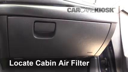 2017 Chevrolet Malibu Premier 2.0L 4 Cyl. Turbo Filtro de aire (interior)