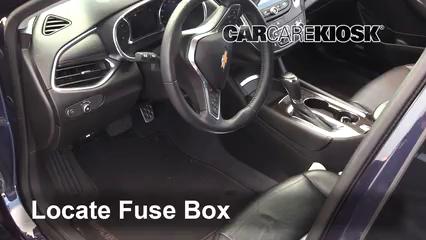 2017 Chevrolet Malibu Premier 2.0L 4 Cyl. Turbo Fusible (interior)