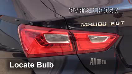 2017 Chevrolet Malibu Premier 2.0L 4 Cyl. Turbo Luces