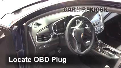 2017 Chevrolet Malibu Premier 2.0L 4 Cyl. Turbo Compruebe la luz del motor