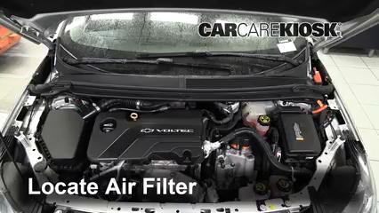 2017 Chevrolet Volt LT 1.5L 4 Cyl. Air Filter (Engine)