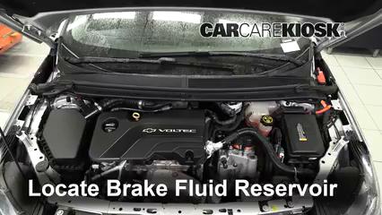 2017 Chevrolet Volt LT 1.5L 4 Cyl. Brake Fluid