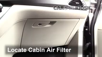 2017 Chrysler Pacifica Touring 3.6L V6 Air Filter (Cabin) Replace