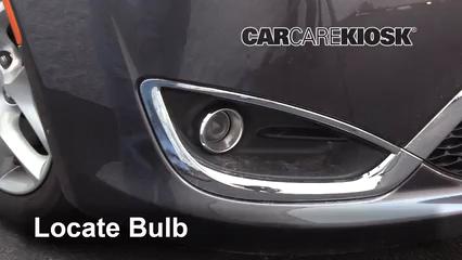 2017 Chrysler Pacifica Touring 3.6L V6 Luces Luz de niebla (reemplazar foco)