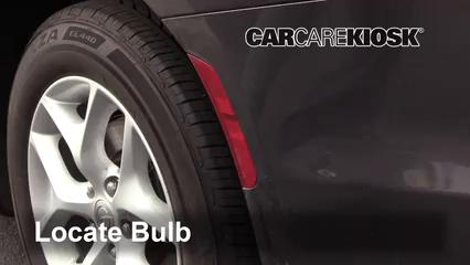 2017 Chrysler Pacifica Touring 3.6L V6 Luces Luz trasera (reemplazar foco)