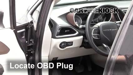 2017 Chrysler Pacifica Touring 3.6L V6 Lumière « Check engine » du moteur