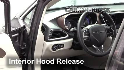 2017 Chrysler Pacifica Touring 3.6L V6 Capot